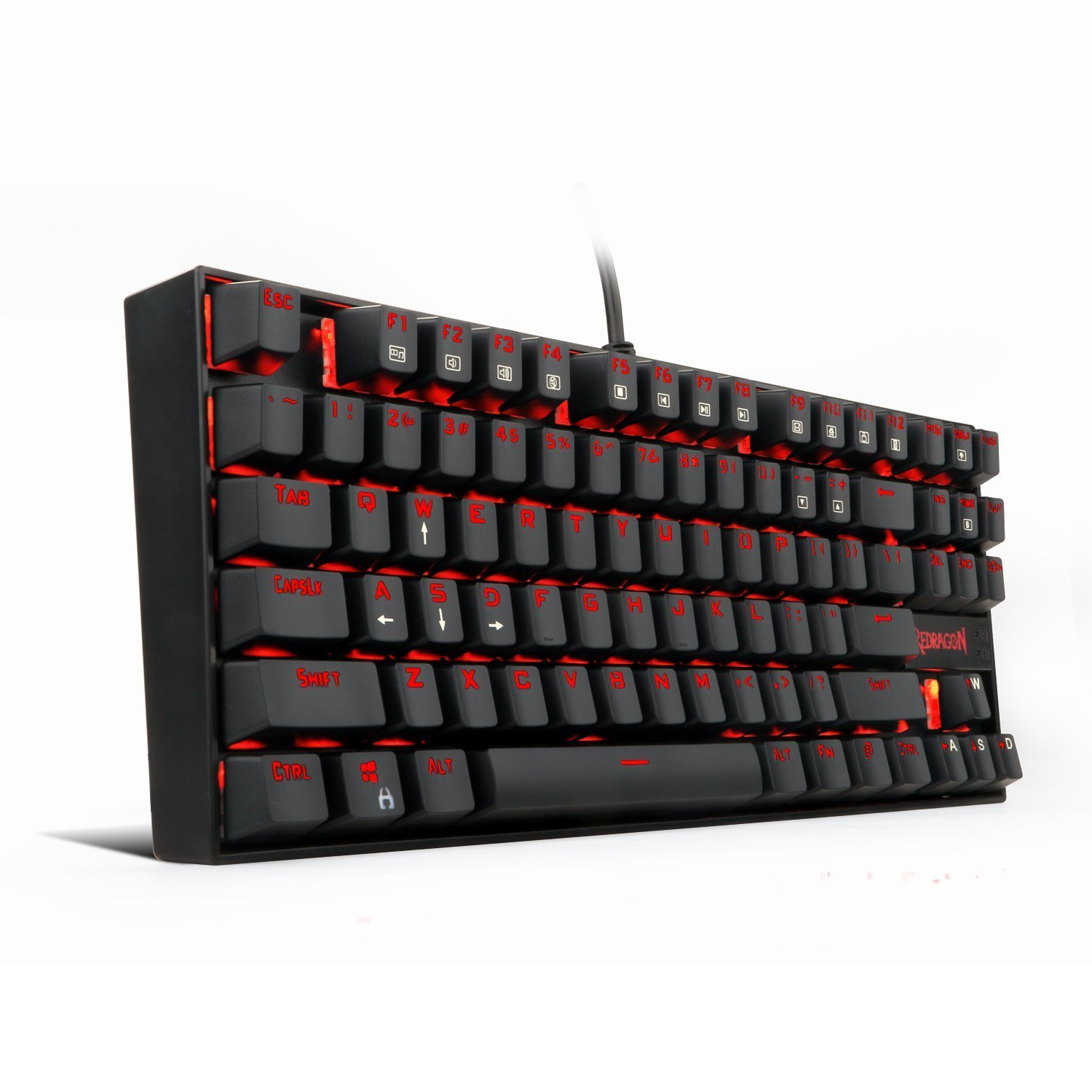 Redragon K552 Kumara Tkl Red Led Backlit Mechanical Gaming