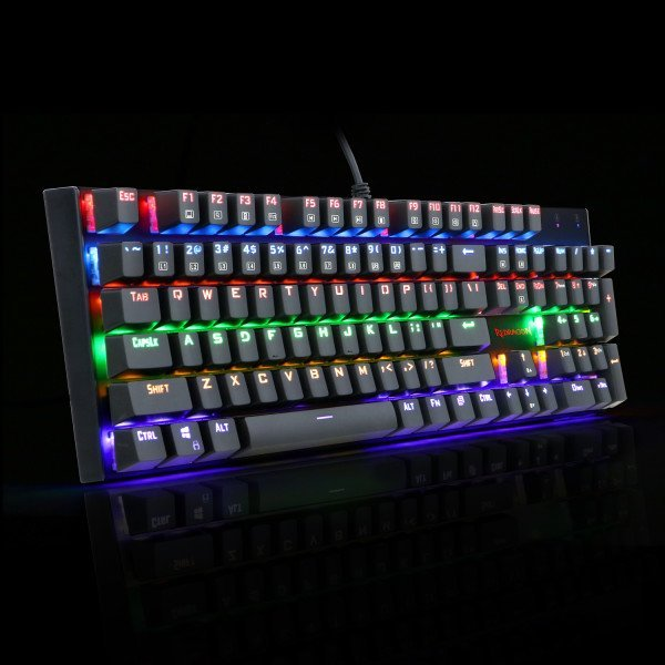 Redragon Rudra K565 Rainbow Mechanical Keyboard Bermor
